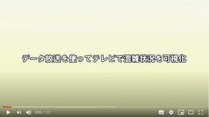 テレビで医療機関などの混雑状況を可視化 (PR動画公開)